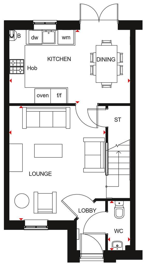 Floorplan 1 of 2: Palmerston GF
