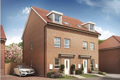 3 bedroom semi-detached house for sale - Plot 592, Norbury at Burton Woods, Rosedale, Spennymoor, SPENNYMOOR DL16