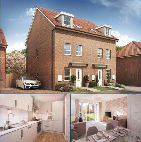 3 bedroom semi-detached house for sale - Plot 592, Norbury at Burton Woods, Rosedale, Spennymoor, SPENNYMOOR DL16