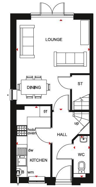 Floorplan 1 of 3: Norbury GF Plan