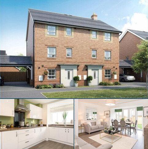 4 bedroom semi-detached house for sale - Plot 5, Hythie at Barratt Homes at Kingsbrook, Burcott Lane, Aylesbury, AYLESBURY HP22