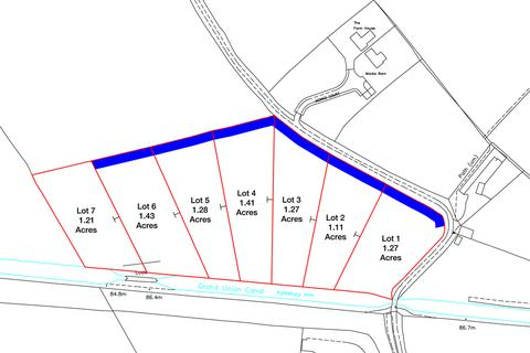 Land for sale - Lot 6 on the Grand Union Canal, Buckinghamshire, HP22 5JA