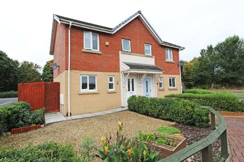 2 bedroom semi-detached house for sale - Sterling Close, Pengam Greem