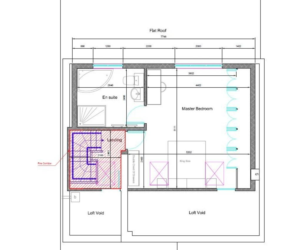 Previous Plans For Extension