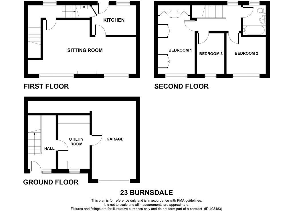 Floorplan: 23 Burnsdale