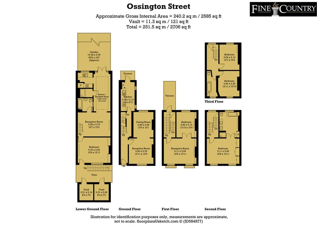 Floorplan: Ossington Street