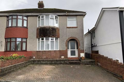 3 bedroom semi-detached house for sale - Cwmrhydyceirw Road, Morriston, Swansea