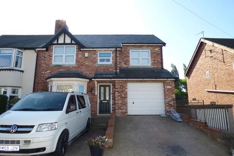 3 bedroom semi-detached house for sale - Grange Avenue, Grangefield , Stockton-on-Tees, Cleveland, TS18 4LU