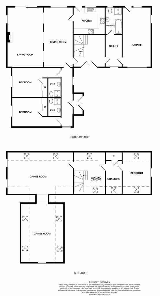 Floorplan: The halt floor plan
