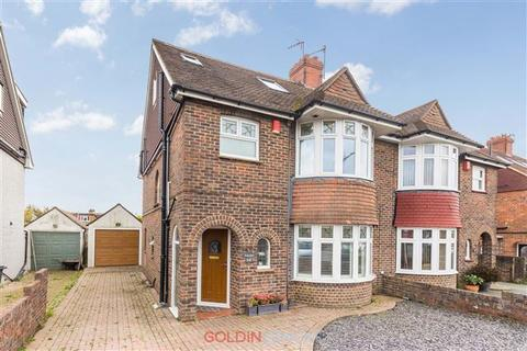4 bedroom semi-detached house for sale - Hangleton Road, Hove