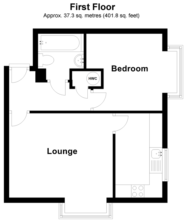 Floorplan: First Floor