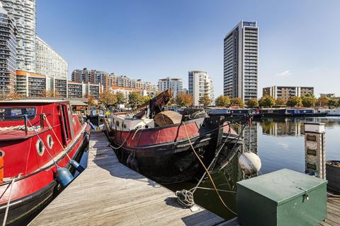 1 bedroom houseboat for sale - Boardwalk Place, Poplar Dock Marina, Poplar, E14