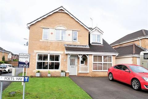 5 bedroom detached house for sale - Poets Way, Llanharan, CF72 9UZ