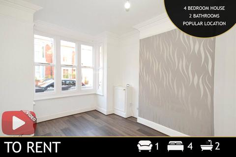 4 bedroom terraced house to rent - Barclay Street, Leicester, Leicestershire, LE3