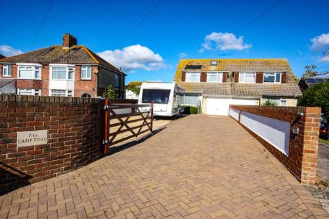 3 bedroom semi-detached house for sale - With Large Detached Workshop, Moments From Fleet