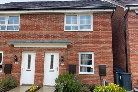 2 bedroom semi-detached house to rent - Totnes Place, Grantham, NG31