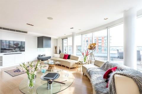 3 bedroom penthouse to rent - New Providence Wharf, 1 Fairmont Avenue, London, E14