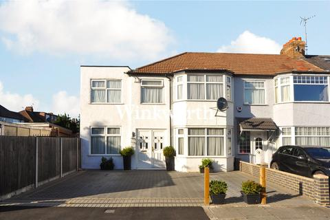 3 bedroom end of terrace house for sale - New Park Avenue, London, N13