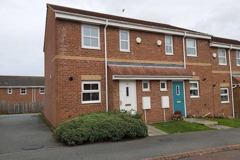 2 bedroom end of terrace house to rent - Parkside Gardens, Widdrington, Northumberland