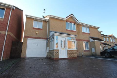 3 bedroom semi-detached house for sale - Thistle Close, Barry