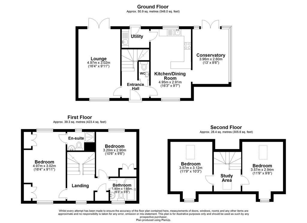 Floorplan: 1 Ribston Way. Floor Plan.JPG