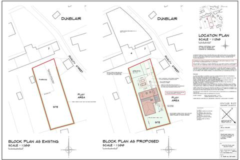 Plot for sale - Quality Street, Gauldry, Fife, DD6