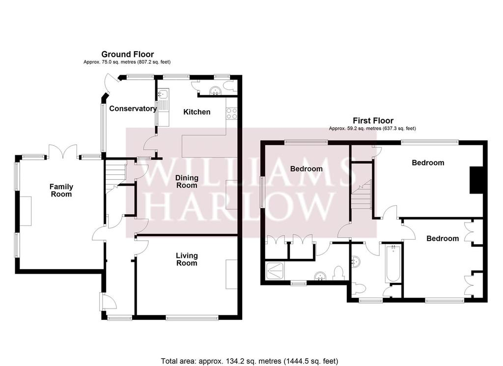 Floorplan: How Green Cottages, Chipstead.JPG