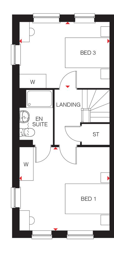Floorplan 3 of 3: The Hazel second