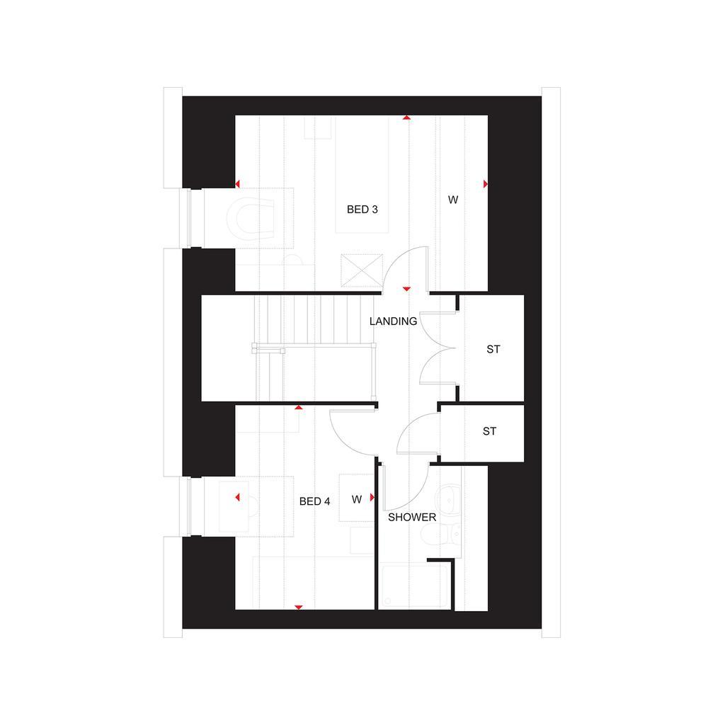 Floorplan 3 of 3: The Elm second floor