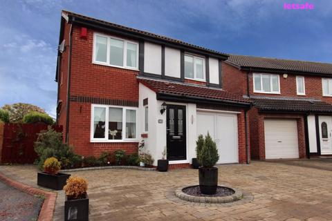 3 bedroom detached house to rent - Abbots Way, North Shields, NE29 8LR
