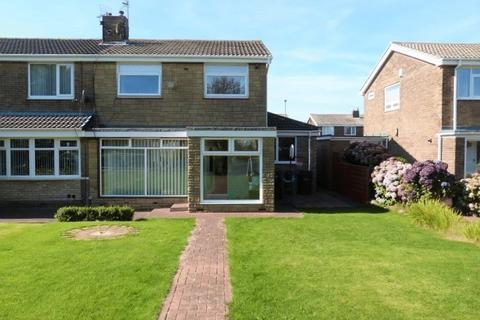 3 bedroom semi-detached house for sale - Fairfield Drive, Ashington, Three Bedroom Semi Detached House