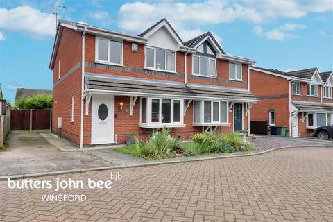 3 bedroom semi-detached house for sale - Rosebank Close, Winsford