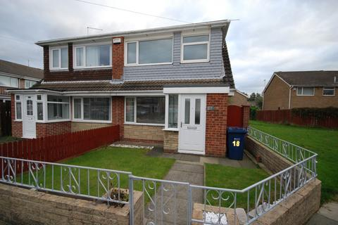 3 bedroom semi-detached house for sale - Sherburn Way, Wardley