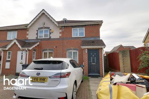 2 bedroom end of terrace house for sale - Stern Close, Barking
