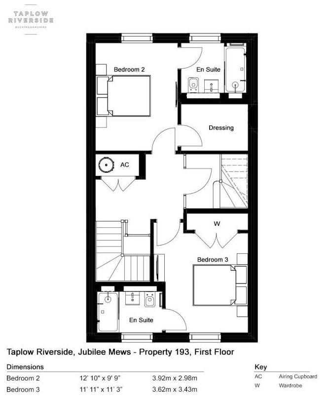 Floorplan 2 of 3: First