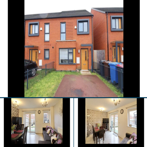 3 bedroom townhouse to rent - Blodwell Street, Salford, Manchester M6