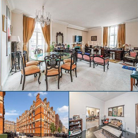 3 bedroom flat for sale - Montagu Mansions, Marylebone