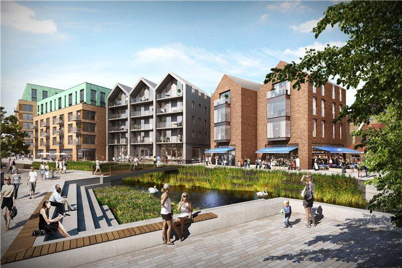 3 Bedrooms Flat for sale in The Ram Quarter, Wandsworth, London, SW18