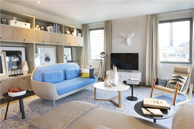 2 Bedrooms Flat for sale in The Ram Quarter, Ram Street, Wandsworth, London, SW18