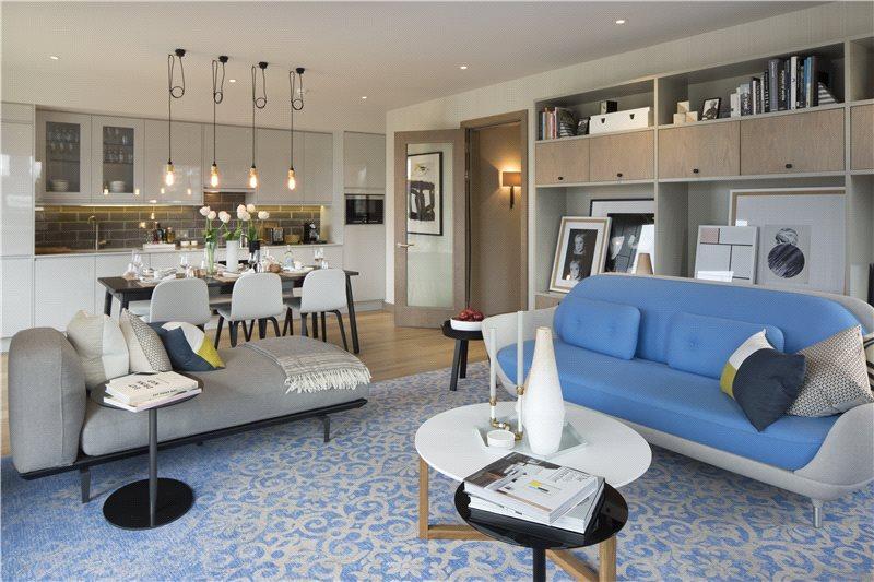 3 Bedrooms Flat for sale in The Ram Quarter, Ram Street, Wandsworth, London, SW18