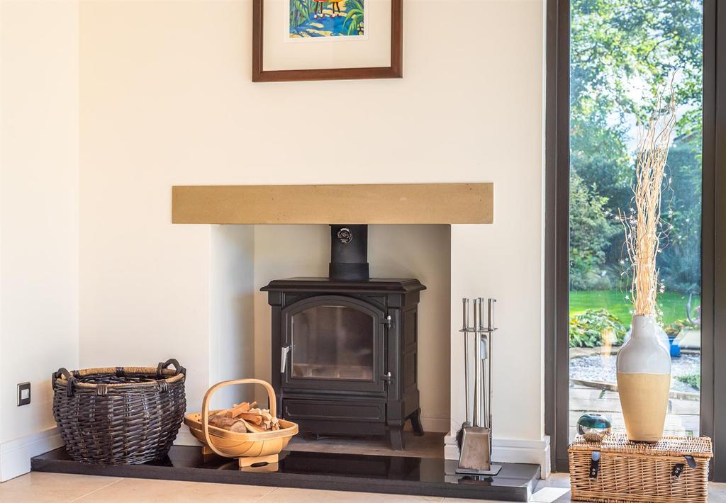 Garden Room Log Burner