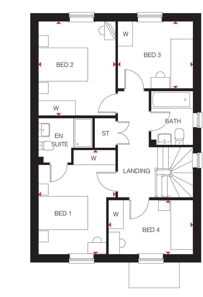 Floorplan 2 of 2: Elder first floor