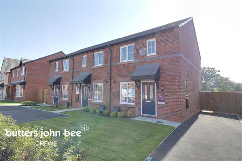 2 bedroom end of terrace house for sale - Alfred Potts Way, Shavington, Crewe