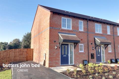 2 bedroom end of terrace house for sale - Alfred Potts Way, Shavington, Crewe