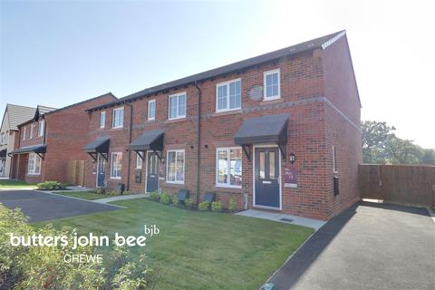 2 bedroom terraced house for sale - Alfred Potts Way, Shavington, Crewe