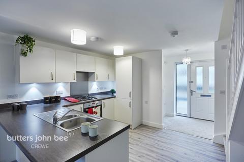 2 bedroom terraced house for sale - Alfred Potts Way, Shavington, Crewe