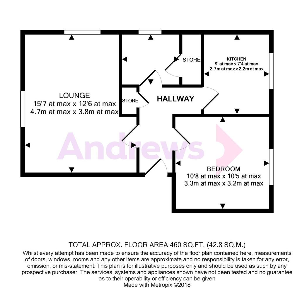 Floorplan: 31 Willow Court Floorplan