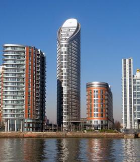 Studio to rent - Onatrio Tower, 4 Fairmont Avenue, Blackwall, Canary Wharf, London, E14 9JB