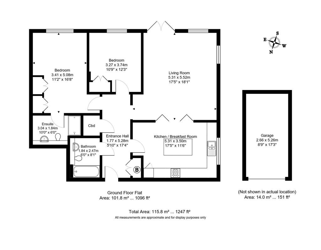 Floorplan: Pembury Road