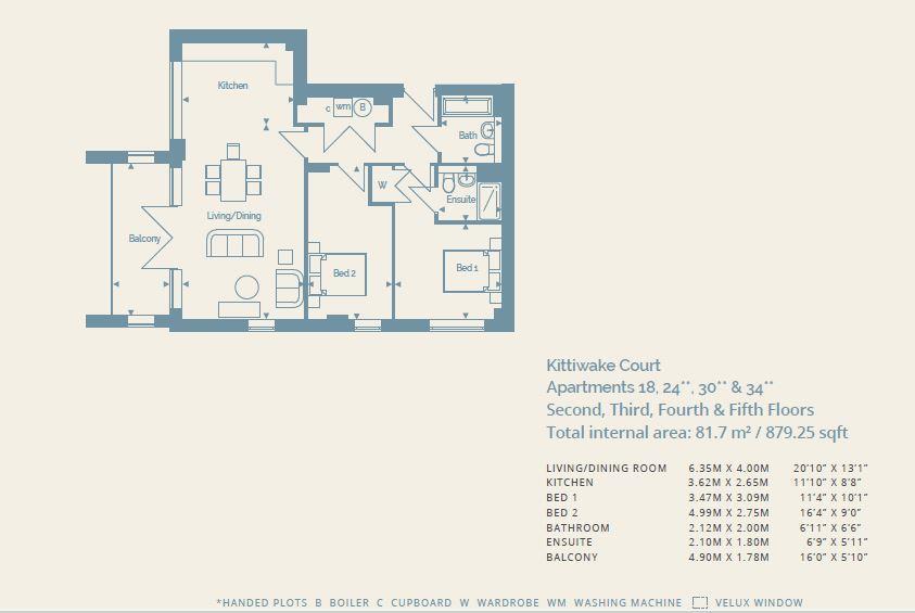 Floorplan: Plot 30 The Watefront